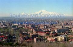 Noon on Yerevan